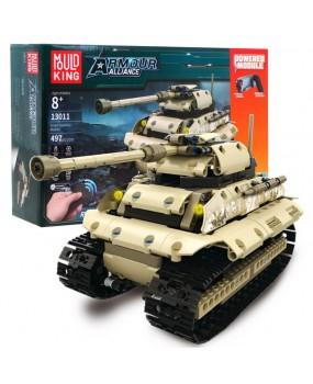 Stavebnica tank na diaľkové ovládanie
